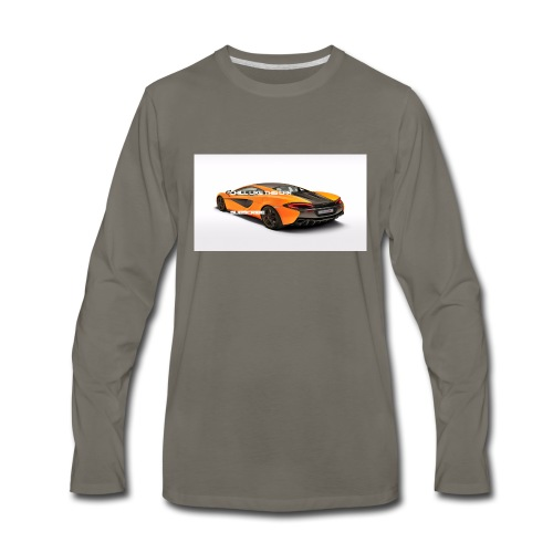 ChillBrosGaming Chill Like This Car - Men's Premium Long Sleeve T-Shirt