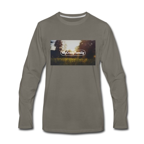 mycrazyfamily2 - Men's Premium Long Sleeve T-Shirt