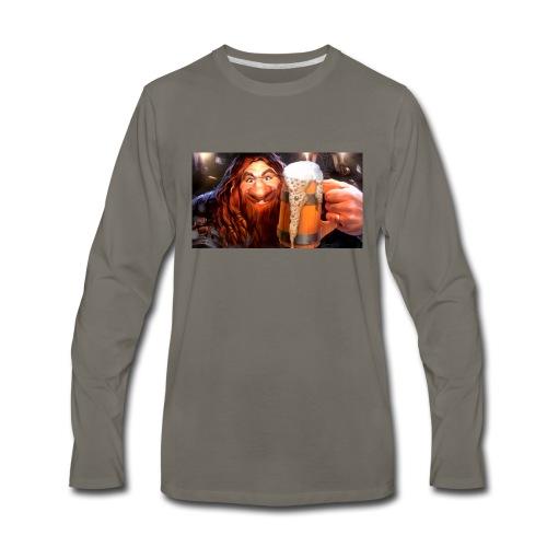 Hearthstone Innkeeper - Men's Premium Long Sleeve T-Shirt