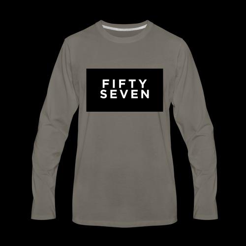 Fifty-Seven - Men's Premium Long Sleeve T-Shirt