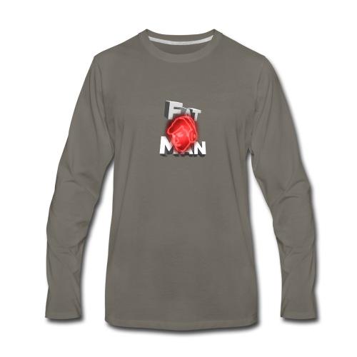 Fat Man // ItsRobert Merch - Men's Premium Long Sleeve T-Shirt