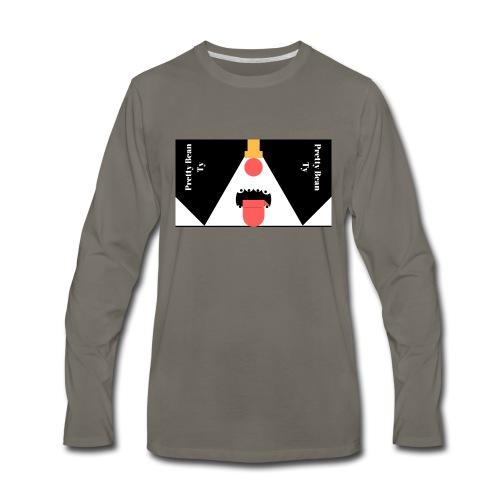 pretty - Men's Premium Long Sleeve T-Shirt