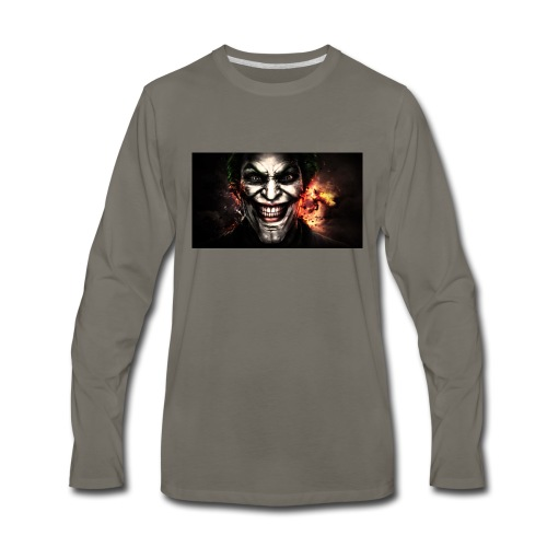 Jokers Evil Scheme - Men's Premium Long Sleeve T-Shirt