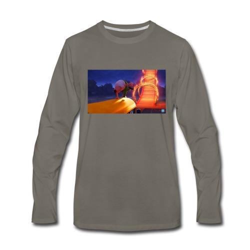 Mr krupp / aptain underpants dresssed - Men's Premium Long Sleeve T-Shirt