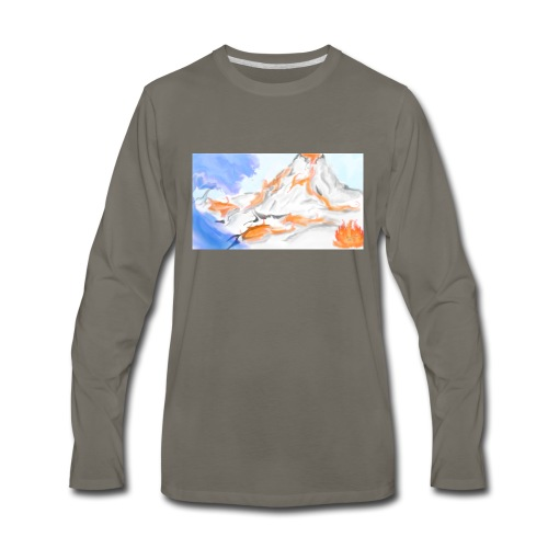 Land - Men's Premium Long Sleeve T-Shirt