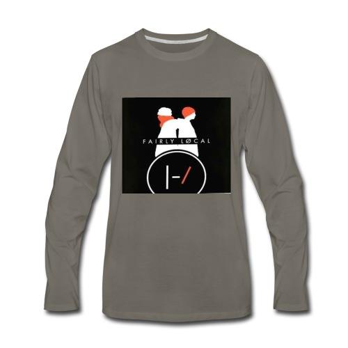 // fan made fairly local - Men's Premium Long Sleeve T-Shirt