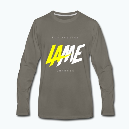 lame - Men's Premium Long Sleeve T-Shirt