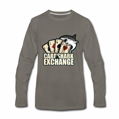 Card Shark 1 - Men's Premium Long Sleeve T-Shirt