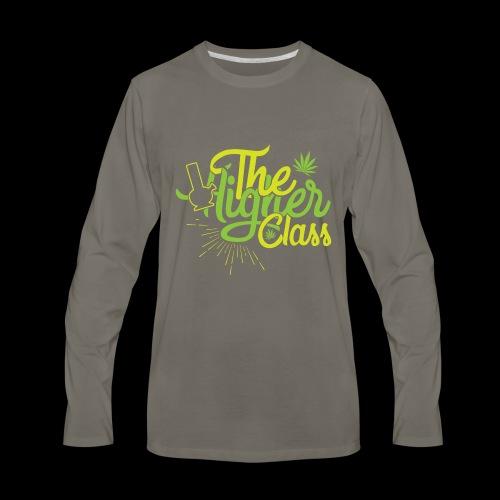 the higher class 2 - Men's Premium Long Sleeve T-Shirt