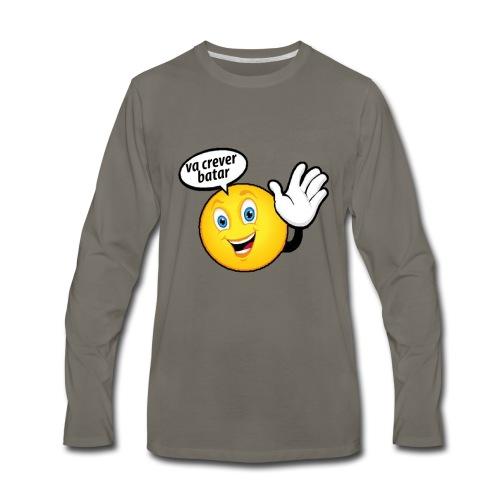 va crever batar - Men's Premium Long Sleeve T-Shirt