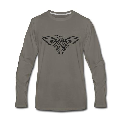 eagle flying tshirt - Men's Premium Long Sleeve T-Shirt