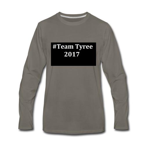 Team_tyree - Men's Premium Long Sleeve T-Shirt