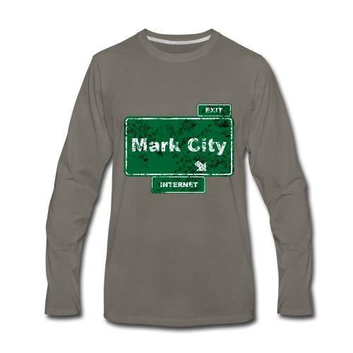 Mark City - Men's Premium Long Sleeve T-Shirt