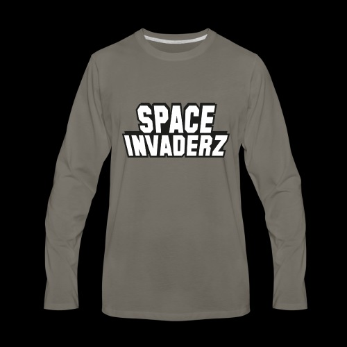 Space Invaderz - Men's Premium Long Sleeve T-Shirt
