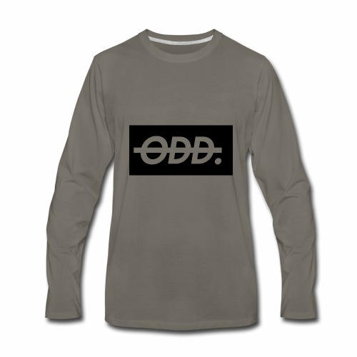 Odyssey Brand Logo - Men's Premium Long Sleeve T-Shirt