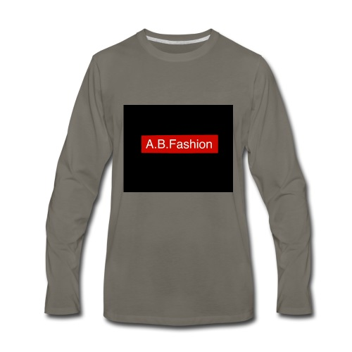 new a.b.fashion limited edition fashion product - Men's Premium Long Sleeve T-Shirt
