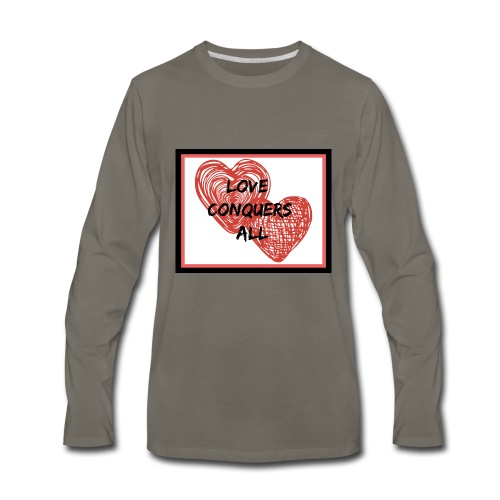 Love Conquers All - Men's Premium Long Sleeve T-Shirt