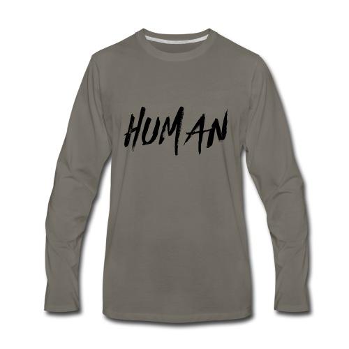 HUMAN STORES - Men's Premium Long Sleeve T-Shirt