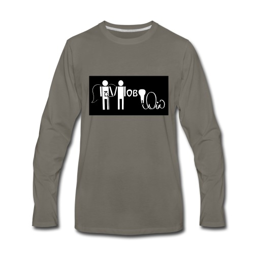 Hobo Dia - Men's Premium Long Sleeve T-Shirt