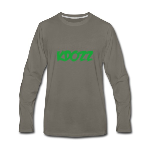 Kdozz - Men's Premium Long Sleeve T-Shirt
