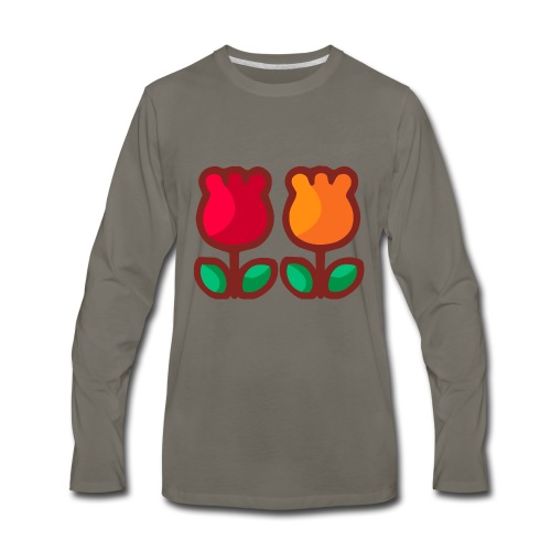 Loving Tulips - Men's Premium Long Sleeve T-Shirt