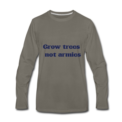 Grow trees - Men's Premium Long Sleeve T-Shirt