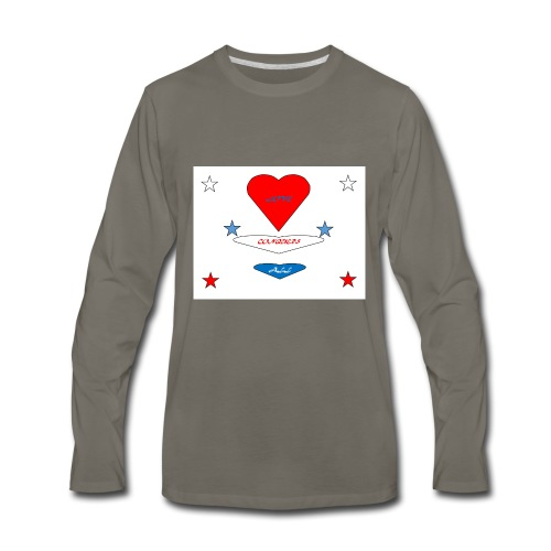 iNNOVA22SWAY LOVE CONQUERS ALL - Men's Premium Long Sleeve T-Shirt