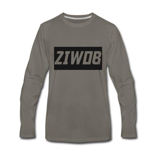 Ziwob shirt design - Men's Premium Long Sleeve T-Shirt