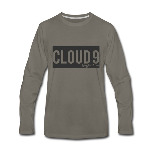 cloud 9 - Men's Premium Long Sleeve T-Shirt