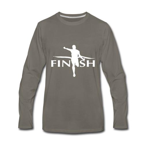 AC - Finish - Men's Premium Long Sleeve T-Shirt