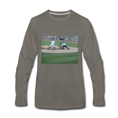Atlantic League Long Island Ducks Pitch - Men's Premium Long Sleeve T-Shirt