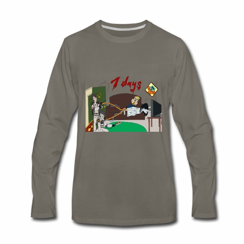 7 Day Bust - Men's Premium Long Sleeve T-Shirt