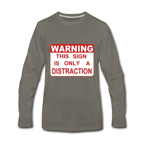 Distraction - Men's Premium Long Sleeve T-Shirt