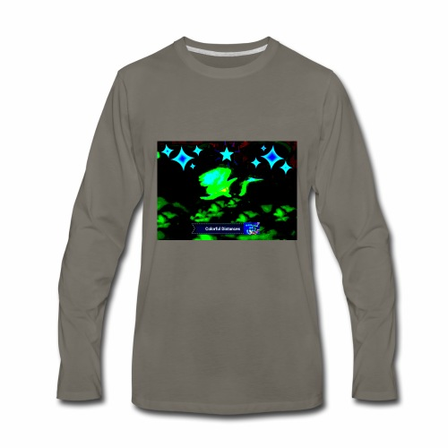 Take off to the stars - Men's Premium Long Sleeve T-Shirt