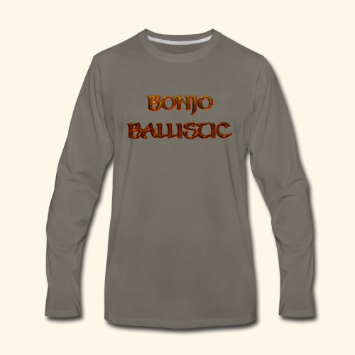 BonjoBallistic - Men's Premium Long Sleeve T-Shirt