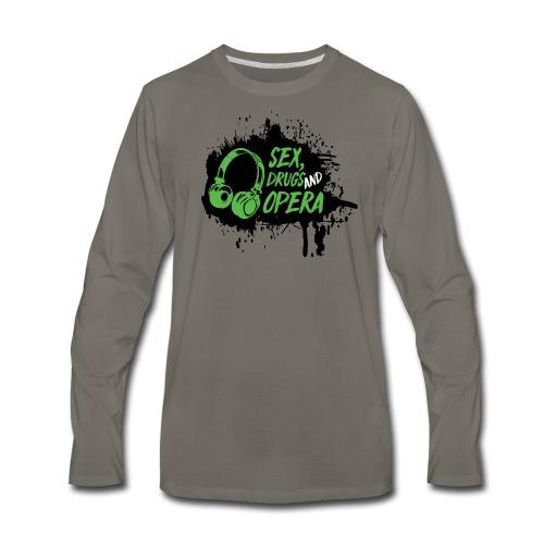 SDAO Alternative Logo - Men's Premium Long Sleeve T-Shirt