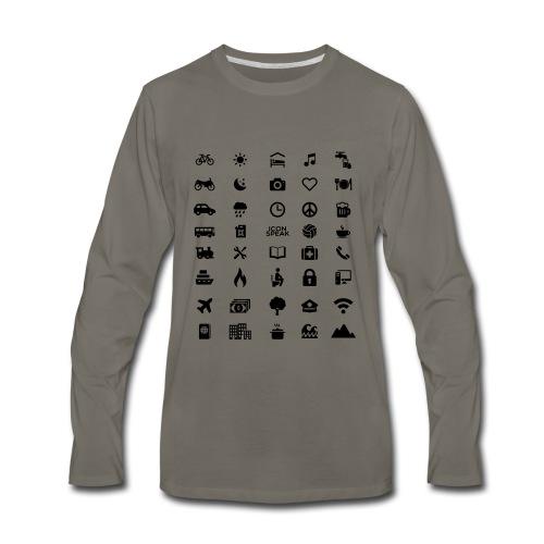 Good design name - Men's Premium Long Sleeve T-Shirt
