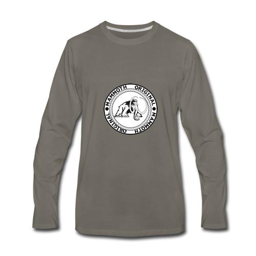 Mammoth Original Standard Logo - Men's Premium Long Sleeve T-Shirt