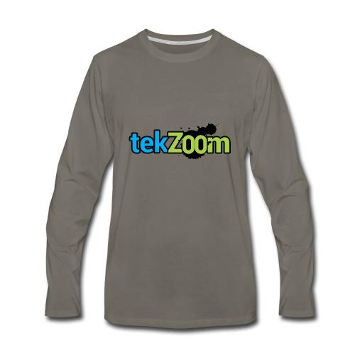 Logo Full - Men's Premium Long Sleeve T-Shirt