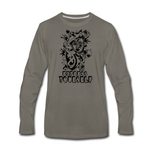 EXPRESS YOURSELF - Men's Premium Long Sleeve T-Shirt