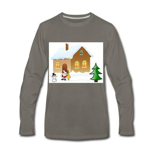 Marry_Christmas - Men's Premium Long Sleeve T-Shirt