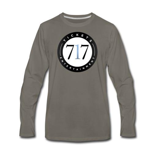 717logo - Men's Premium Long Sleeve T-Shirt