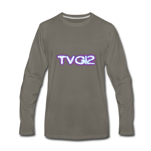 TVG12 - Men's Premium Long Sleeve T-Shirt