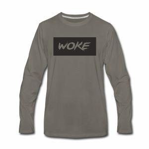 wokeshirt - Men's Premium Long Sleeve T-Shirt