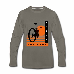 Bicycle Cool Ride T-Shirt - Men's Premium Long Sleeve T-Shirt