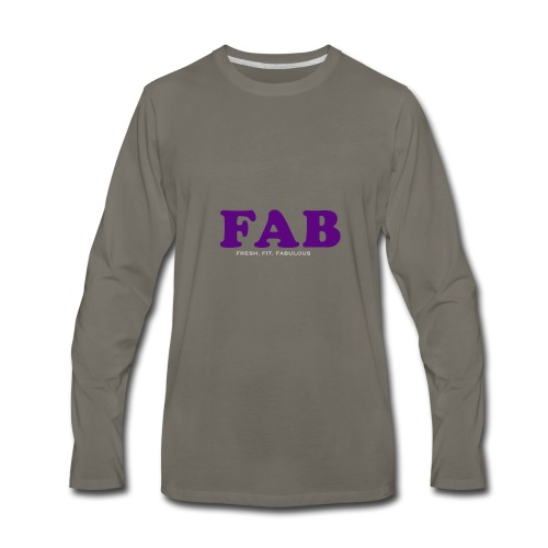 FAB Tank - Men's Premium Long Sleeve T-Shirt