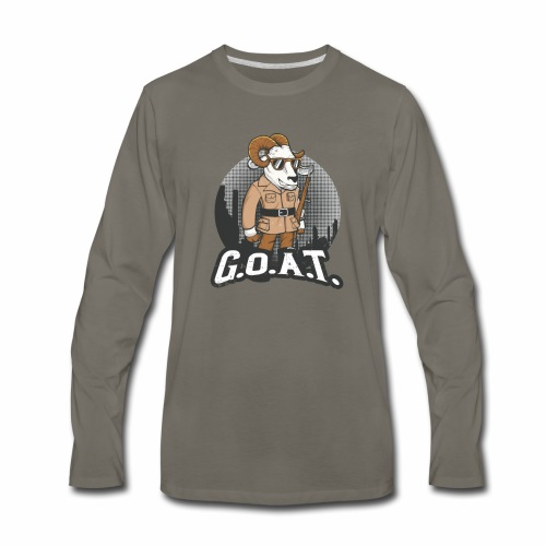 GOAT 2nd Edition - Men's Premium Long Sleeve T-Shirt