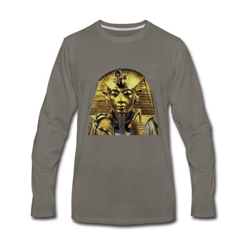 Tutankhamun Pharaoh of Egypt Products and T-shirts - Men's Premium Long Sleeve T-Shirt