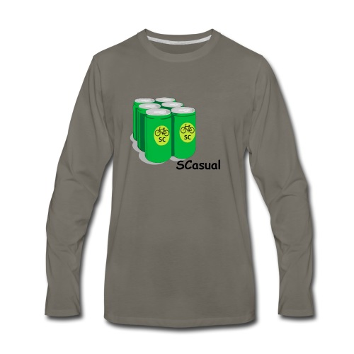 SCasual - Men's Premium Long Sleeve T-Shirt