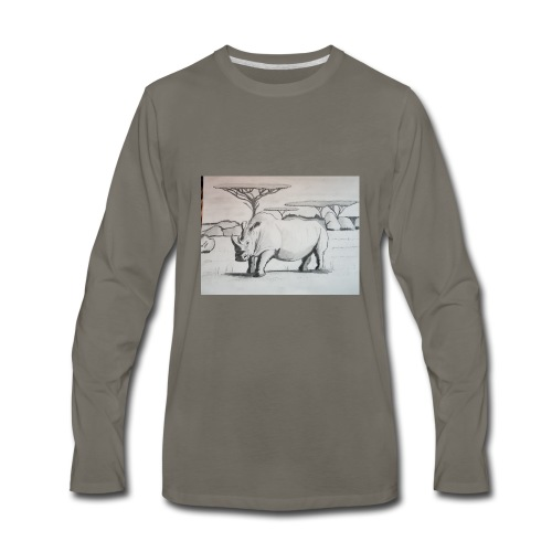 Rhino - Men's Premium Long Sleeve T-Shirt